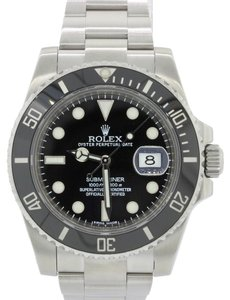 Rolex 2012 Rolex Submariner Date 116610 LN Steel Dive Ceramic 40mm Watch