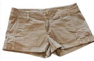 Express Cuffed Shorts green/khaki
