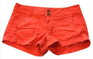 Express Cuffed Shorts orange