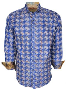 Robert Graham Shirt Men's Shirt Shirt Button Down Shirt Multi-Color