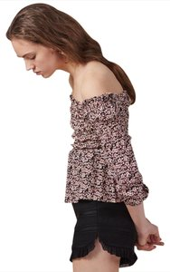 Maje Off Spring Chic Parisian Top multi