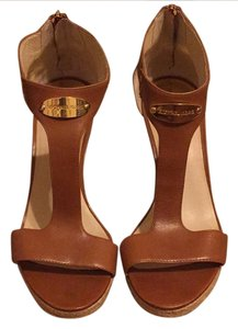 Michael Kors Light Brown Wedges