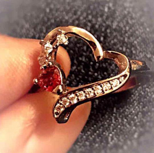 Other 925 Sterling Silver plated Heart Shape ring