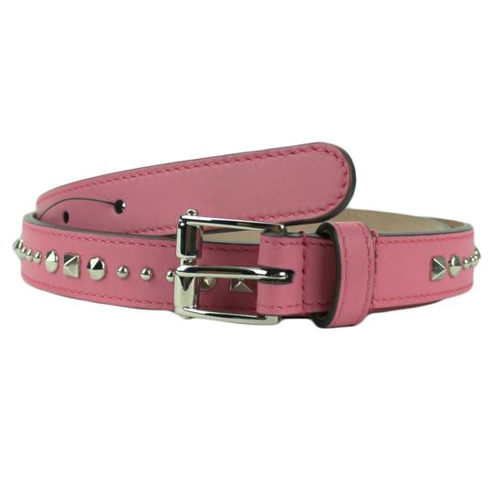 Preload https://item1.tradesy.com/images/gucci-pink-380561-women-s-studded-leather-80-32-belt-20819395-0-0.jpg?width=440&height=440