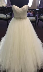 Maggie Sottero Ivory Aleah Wedding Dress Size 14 (L)