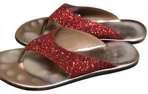 Donald J. Pliner Red Sandals