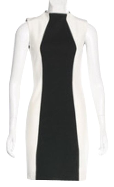 Preload https://img-static.tradesy.com/item/20819449/nicholas-white-and-black-neck-sheath-short-cocktail-dress-size-2-xs-0-3-650-650.jpg