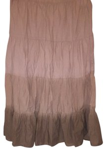 Mossimo Supply Co. Skirt Light Beige