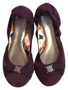Coach purple Flats