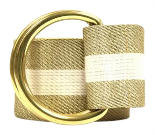 Preload https://item3.tradesy.com/images/white-and-gold-striped-belt-20819717-0-1.jpg?width=440&height=440