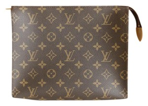 Louis Vuitton Make-up Cosmetic Case Evening Monogram Clutch