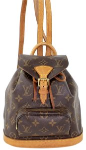 Louis Vuitton Pm Montsouris Totes Backpack