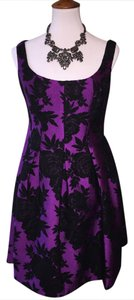 JILL JILL STUART Free Shipping Size 6 Felt Flowers Dress