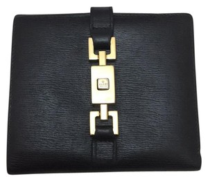 Gucci Piston Lock Bi-Fold Wallet