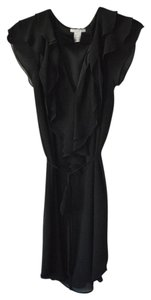 H&M Butterfly Sleeves V-neck Belted Dress
