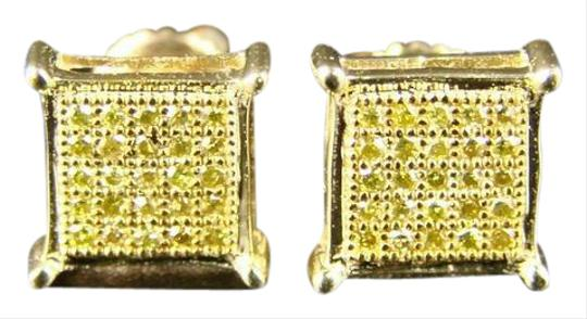 Preload https://img-static.tradesy.com/item/20820027/yellow-gold-mensladies-canary-on-diamond-stud-earrings-0-1-540-540.jpg