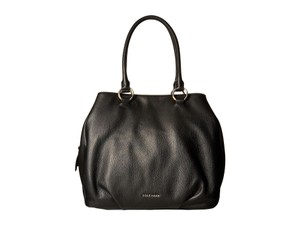 Cole Haan Magnolia Leather Tote in Black