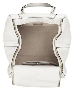 Tory Burch Leather Nwt Satchel in Ivory