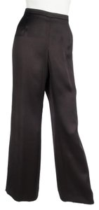 Giorgio Armani Straight Pants black