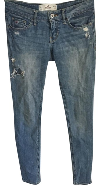 Preload https://img-static.tradesy.com/item/20820183/hollister-distressed-skinny-jeans-size-25-2-xs-0-1-650-650.jpg