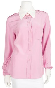 Saint Laurent Button Down Shirt Pink