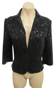 Ilsli Jacket Sequin 3/4 Sleeve Sweater