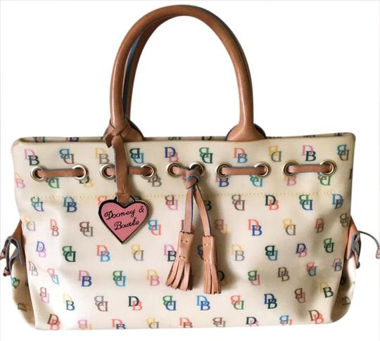 Preload https://item1.tradesy.com/images/dooney-and-bourke-none-multicolor-leather-baguette-20820255-0-1.jpg?width=440&height=440