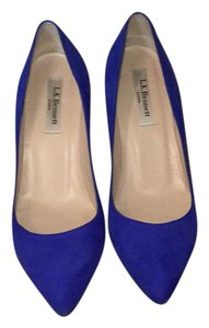 L.K. Bennett Blue Pumps