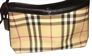 Burberry Tote in Red, white and black plaid