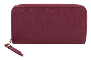 Louis Vuitton Zippy Wallet Leather Clutch