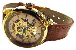 Invicta Specialty Analog Display Skeleton Dial Watch