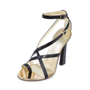 Dsquared2 2 High Heel Made In Italy High Heel Black Sandals