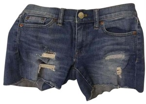 J.Crew Mini/Short Shorts blue denim