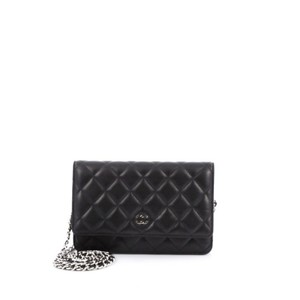 Chanel Wallet Lambskin Shoulder Bag