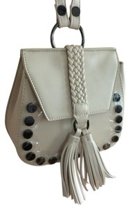 Lionel Color Faux Leather Studded Mini Cross Body Bag