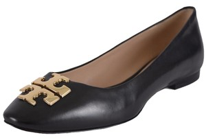 Tory Burch Leather Ballet Black Flats