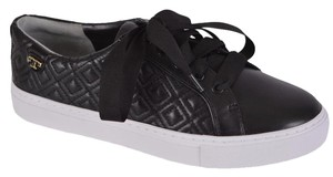 Tory Burch Sneakers Leather Sneakers Black Flats