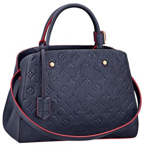 Louis Vuitton Satchel in Blue