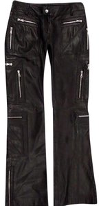 Dolce&Gabbana Zippers Boot Cut Pants Moto