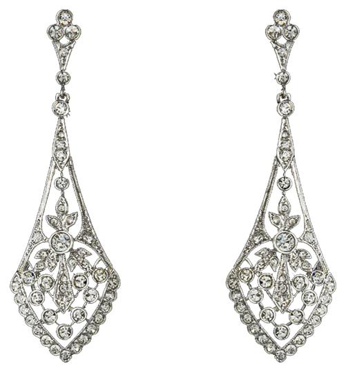 Preload https://item3.tradesy.com/images/elegance-by-carbonneau-silver-clear-antique-cz-vintage-earrings-20820772-0-2.jpg?width=440&height=440