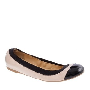 J.Crew Pink and Black Flats