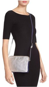 Marc by Marc Jacobs Leather Purple/silver Two-tone Cross Body Bag