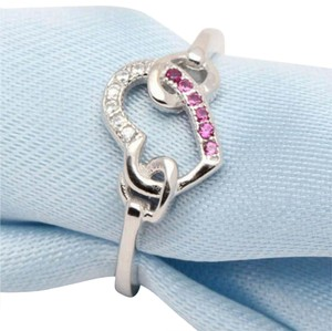 Other ** NWT ** HEARTS ( PINK ) STERLING SLIVER RING