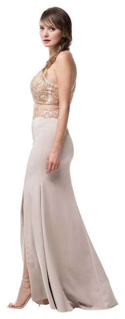 Preload https://item4.tradesy.com/images/ag-studio-taupe-gold-mg1723-long-formal-dress-size-8-m-20821073-0-1.jpg?width=400&height=650