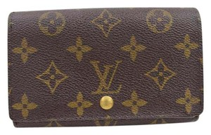 Louis Vuitton Louis Vuitton Monogram Wallet Brown 10341