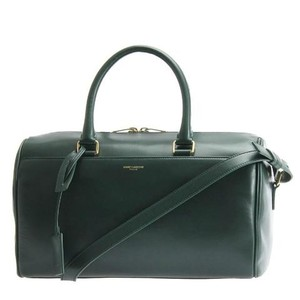 Saint Laurent Duffle Ysl Duffle Ysl Ysl Duffle 6 Satchel in Green