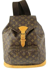 Louis Vuitton Gm Monogram Weekend Travel Canvas Backpack