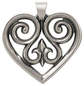 James Avery French Heart pendant