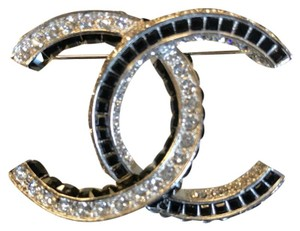 Chanel Chanel CC Crystal Brooch/Pin