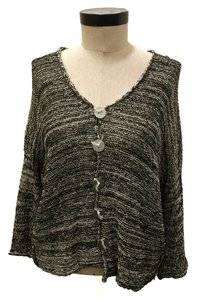 Skif Knitted Cardigan Buttons Sweater